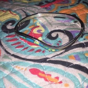 Accessories - Teal Blue and Green bangle